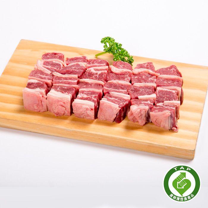 現切冷藏台灣嫩閹牛腩(特選牛腩)600g/包