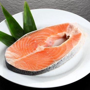 鮭魚切片團購組/350-500克(片) -原價:$460/片