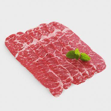 美國特選Choice級牛小排火鍋片/500g(盒)