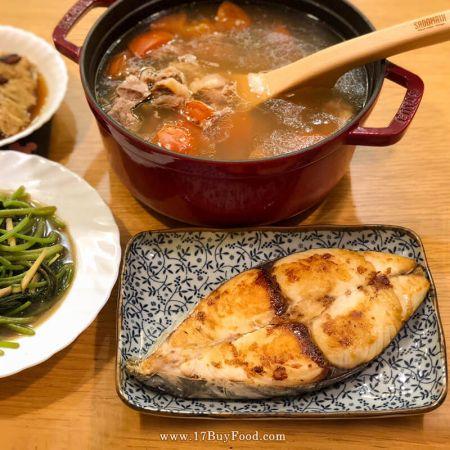 本週菜單:香煎土魠魚+台灣牛番茄湯 營養又美味,晚餐或便當都下飯