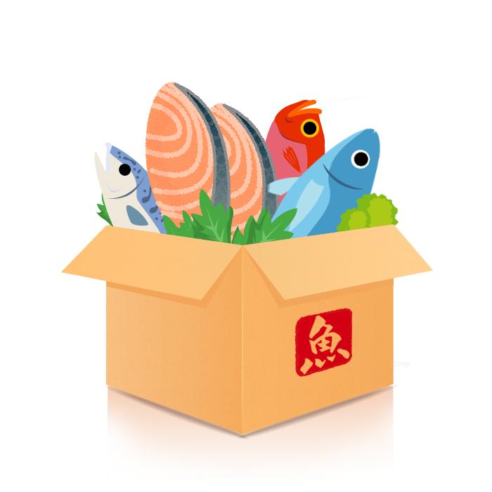 海鮮食材箱
