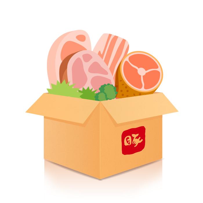好好豬食材箱